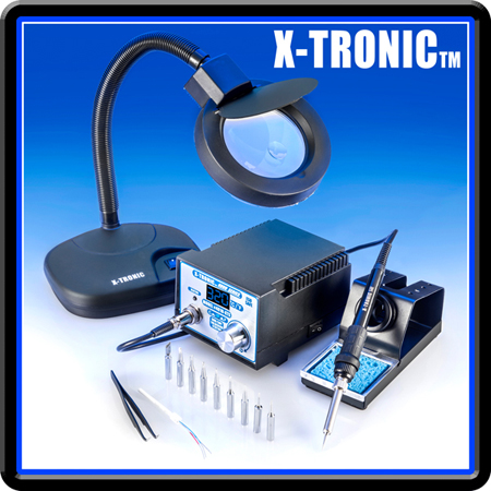 x tronic 4000 series model 4010 xts soldering station kit xtronicusa. Black Bedroom Furniture Sets. Home Design Ideas